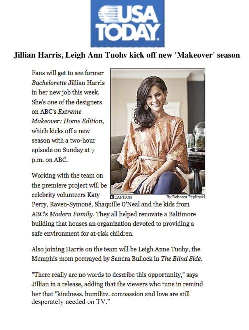 Jillian Harris USA Today