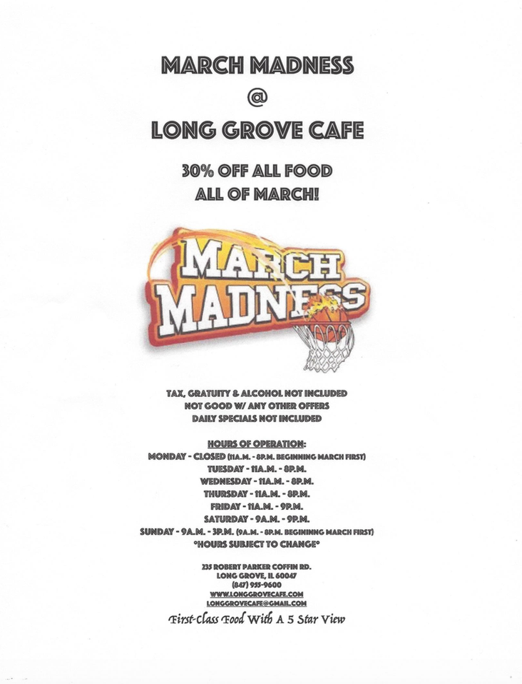 LG March Madness Blog 5