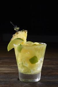 HRC Pineapple Ginger Caipirinha