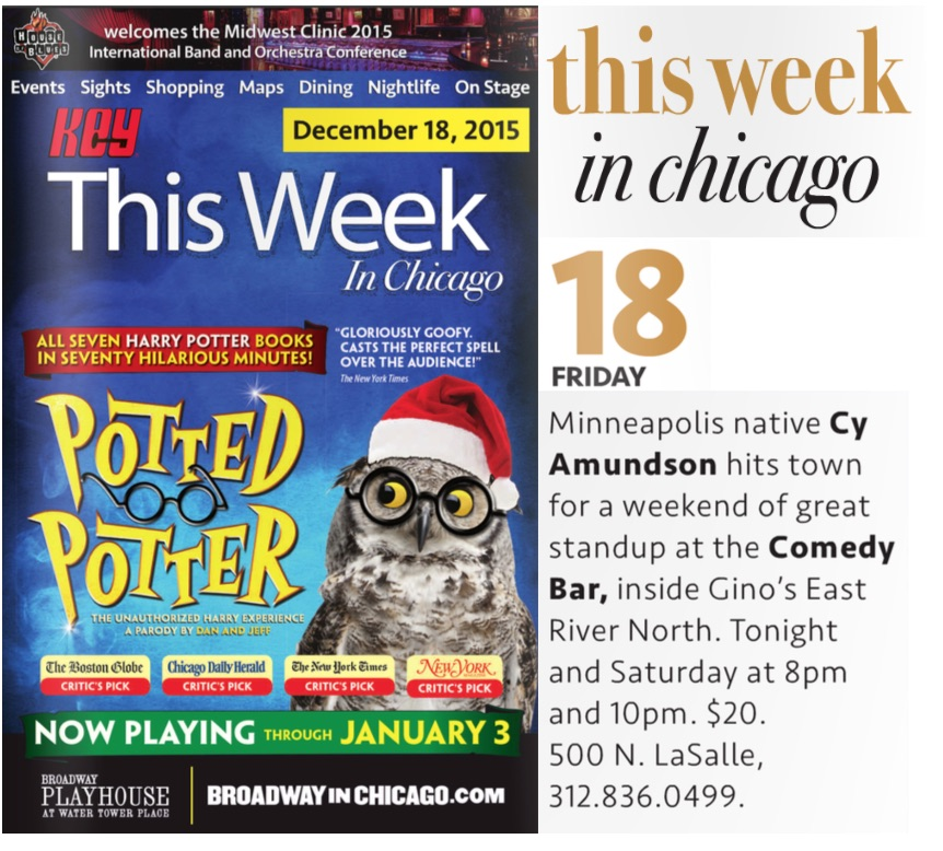ComedyBar_CyAmundson_ThisWeekinChicago_Dec.18.
