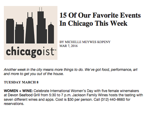 DevonSeafoodGrill_FavoriteEventsThisWeek_Chicagoist_March7